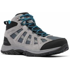 Columbia Redmond III Mid Waterproof Shoes Men, gris/noir